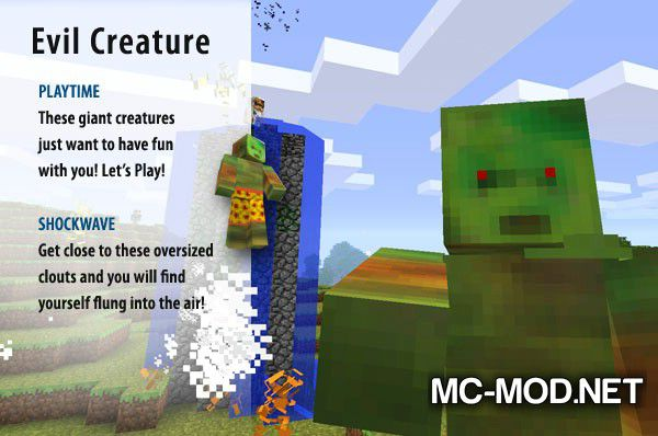 More Creeps and Weirdos mod for minecraft (9)