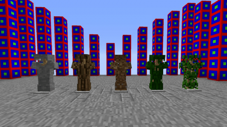 More Vanilla Armors mod for minecraft 01