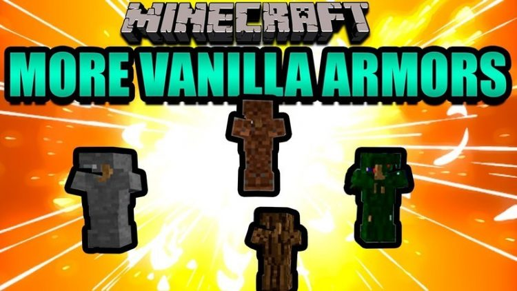 More Vanilla Armors mod for minecraft logo