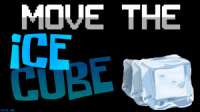 Move the ice cube logo