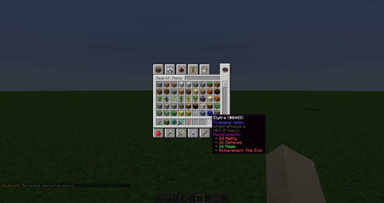 Skillable mod for minecraft 01
