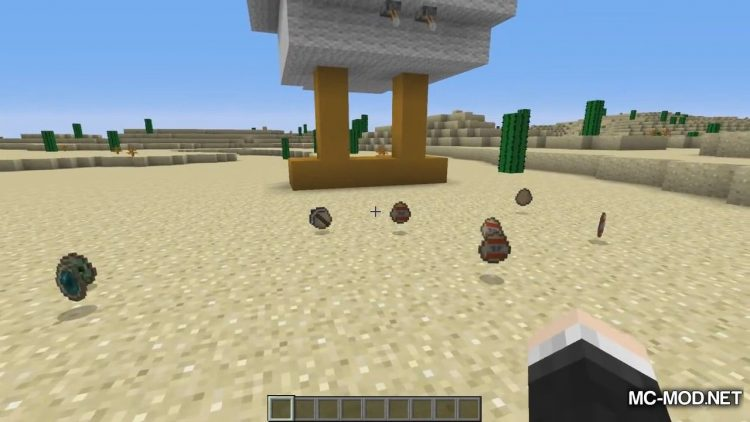The Helpful Egg mod for minecraft 01