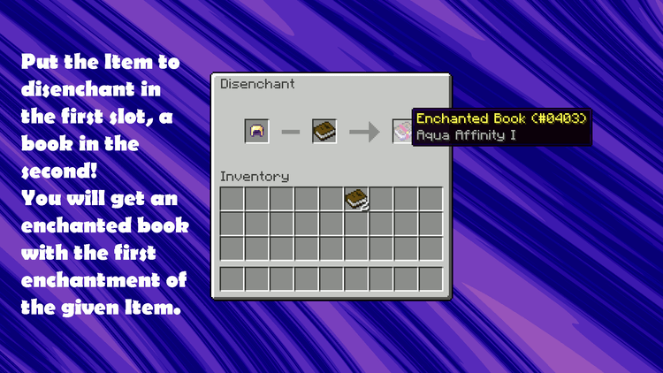 The disenchanter mod for minecraft 06