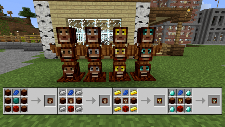 Totem Defender mod for minecraft 02