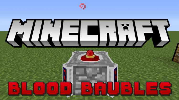 blood baubles mod for minecraft logo