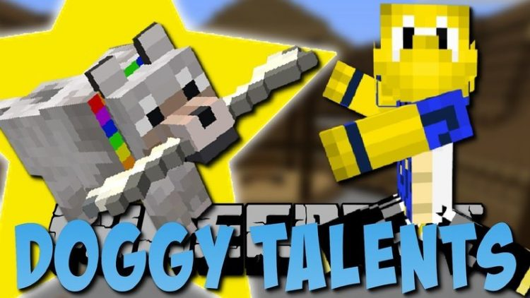 doggy talents mod for minecraft logo