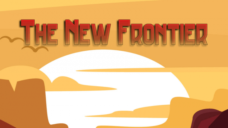 The New Frontier Mod logo