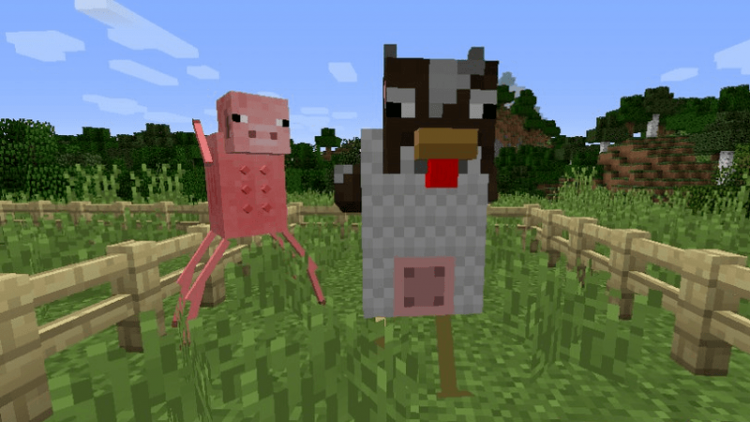 weird things mod for minecraft 01