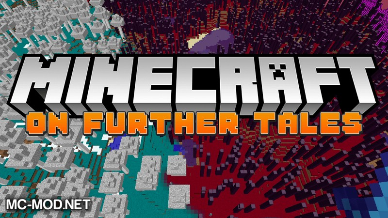 On Further Tales mod for minecraft logo