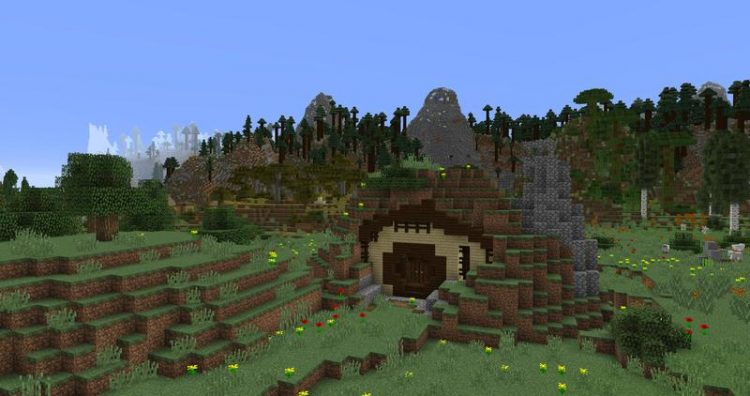 Open Terrain Generator mod for minecraft 01