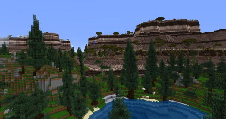 Open Terrain Generator mod for minecraft 02