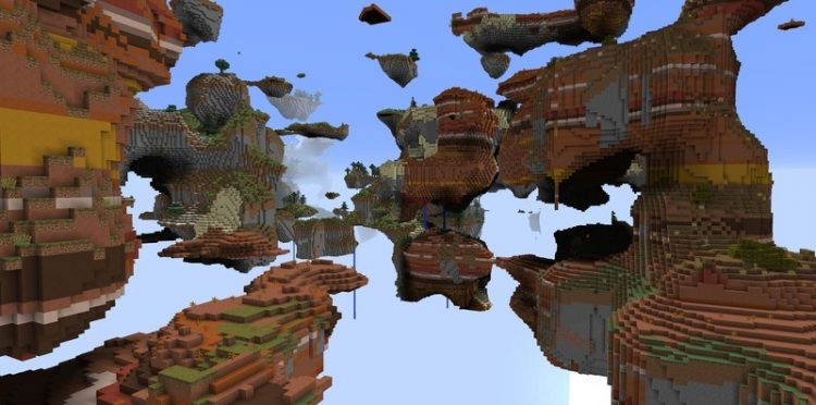 Open Terrain Generator mod for minecraft 05