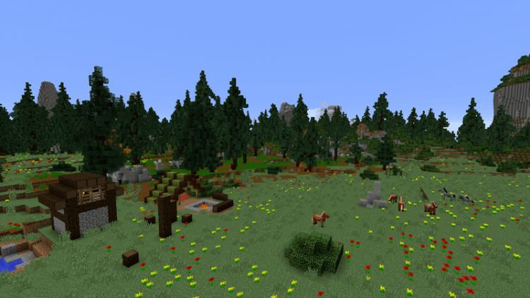 Open Terrain Generator mod for minecraft 09