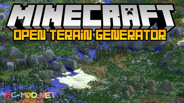 Open Terrain Generator mod for minecraft logo