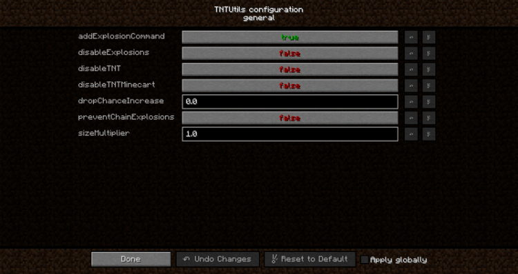 TNTUtils mod for minecraft 04