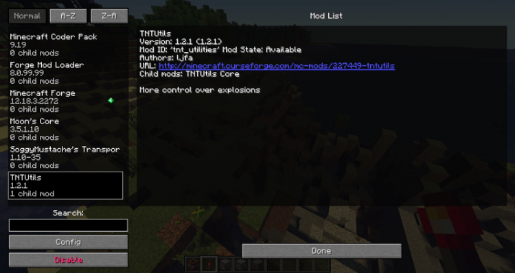 TNTUtils mod for minecraft 08