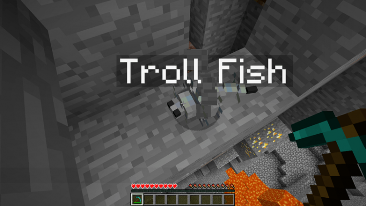Troll Ores Reborn mod for minecraft 03