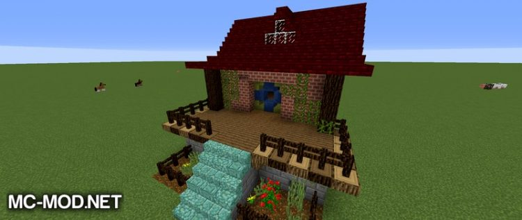 Vanilla Builders Extension mod for minecraft 01