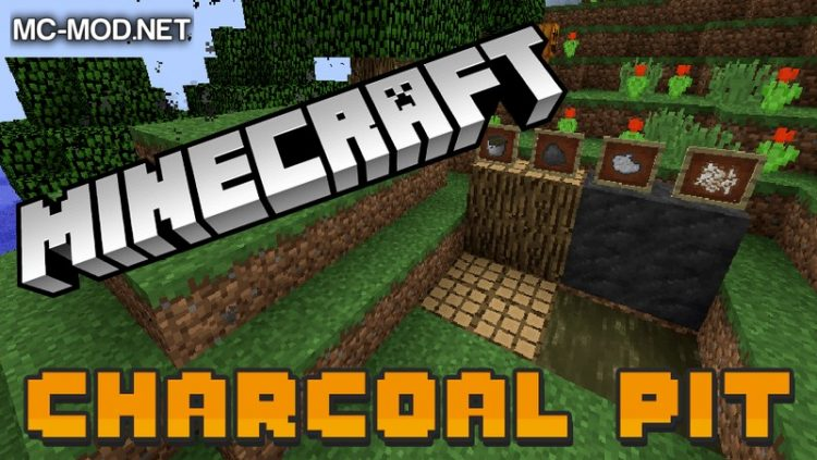 charcoal pit mod for minecraft LOGO