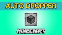 Auto Dropper Mod for Minecraft Logo