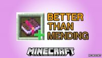 Better Than Mending Mod for Minecraft Logo