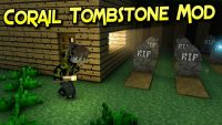 Corail Tombstone Mod for Minecraft logo