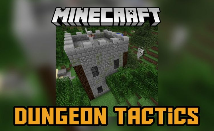 Dungeon Tactics Mod for Minecraft logo