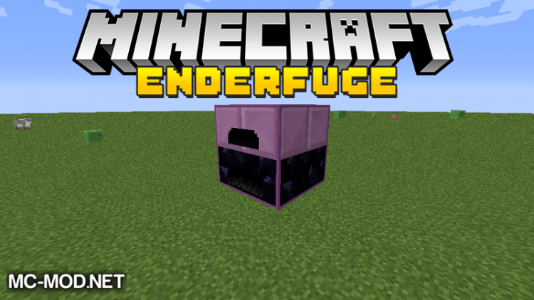 Enderfuge mod for minecraft logo