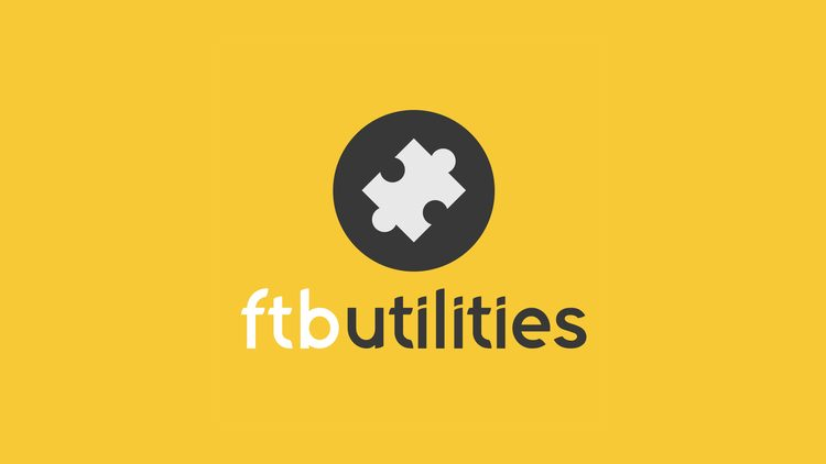 FTB Utilities Mod for minecraft logo