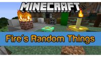 Fire's Random Things Mod for Minecraft Logo