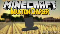 Induction Charger mod for minecraft logo