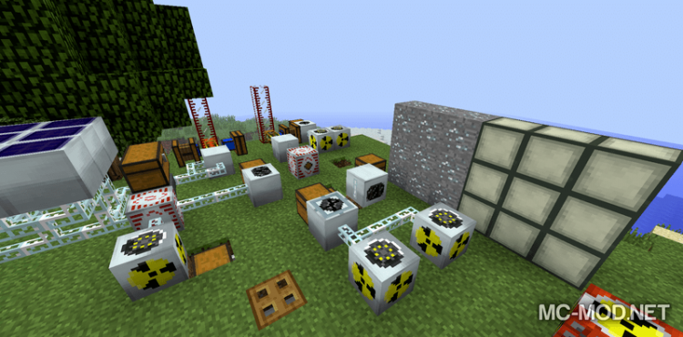 Industrial Wires mod for minecraft 01