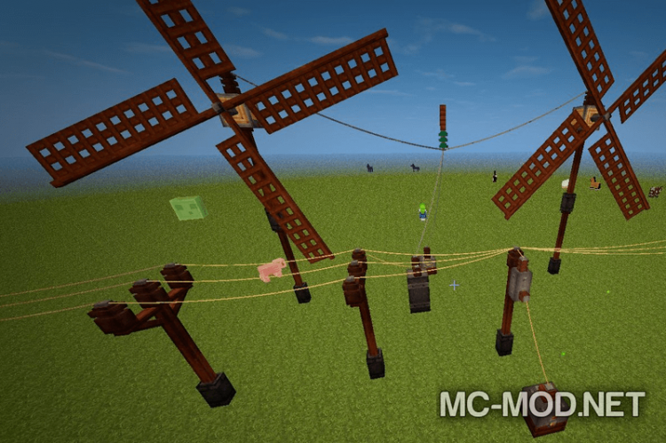 Industrial Wires mod for minecraft 03