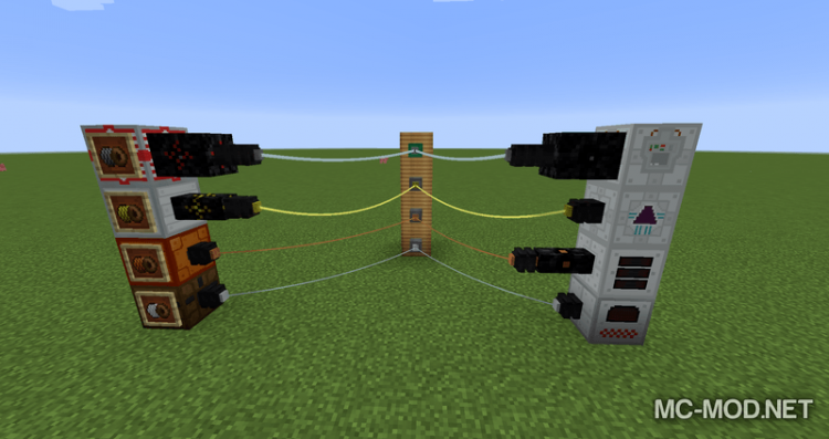 Industrial Wires mod for minecraft 04