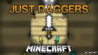 JustDaggers Mod for Minecraft Logo