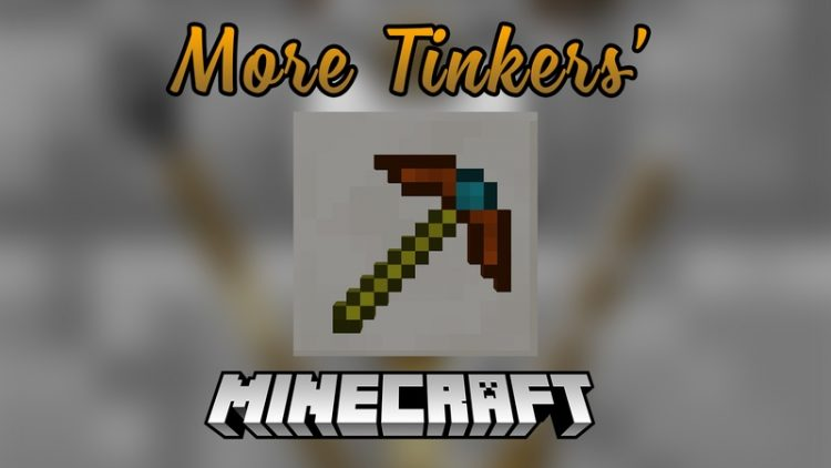 Moar Tinkers Mod for Minercraft logo