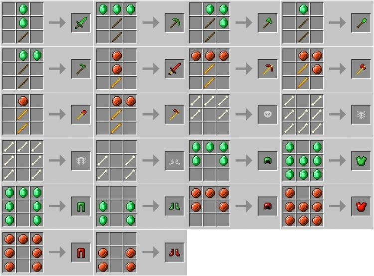 Ore Core Mod for minecraft_6