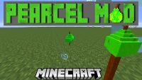 Pearcel Mod for minecraft logo