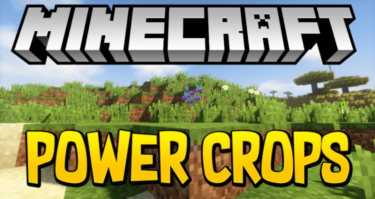 Power Crops mod for minecraft logo