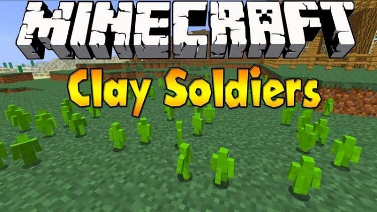 clay soldiers mod for minecraft logo