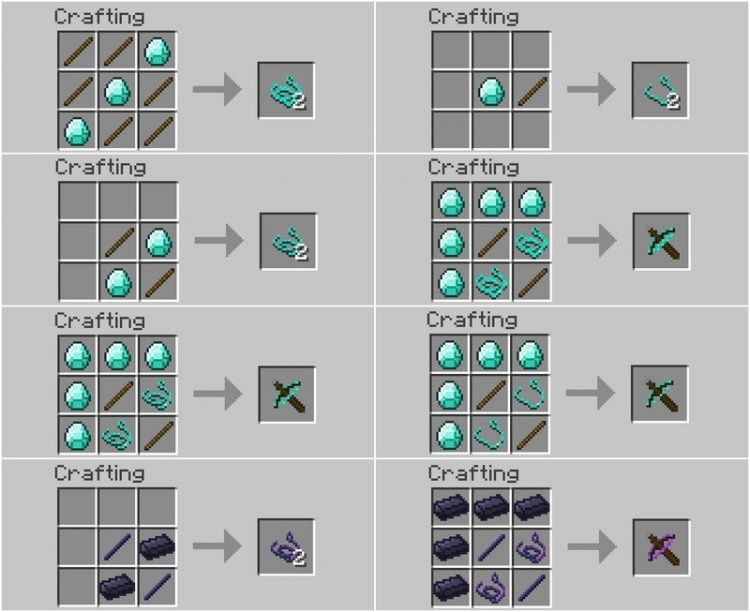 crossbows mod for minecraft 2