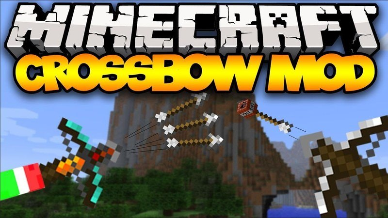 crossbows mod for minecraft logo