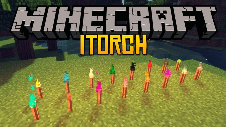 itorch mod for minecraft logo