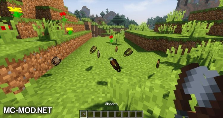 wooden shears mod for minecraft 05