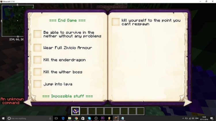 Achievement Books Mod for Minecraft 4