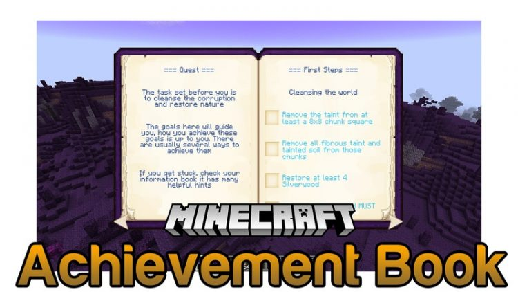 Achievement Books Mod for Minecraft Logo