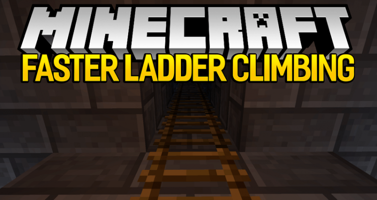 Faster Ladder Climbing mod for minecraft logo