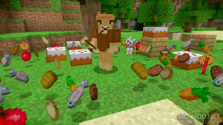 Health and Hunger Tweaks mod for minecraft 03