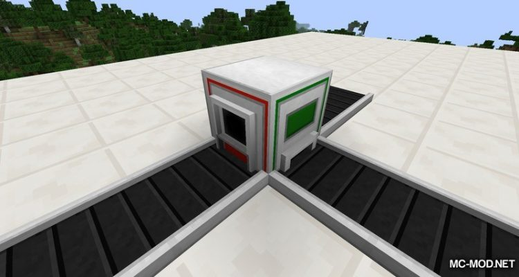 Industrial Conveyor Belts Mod for Minecraft 1