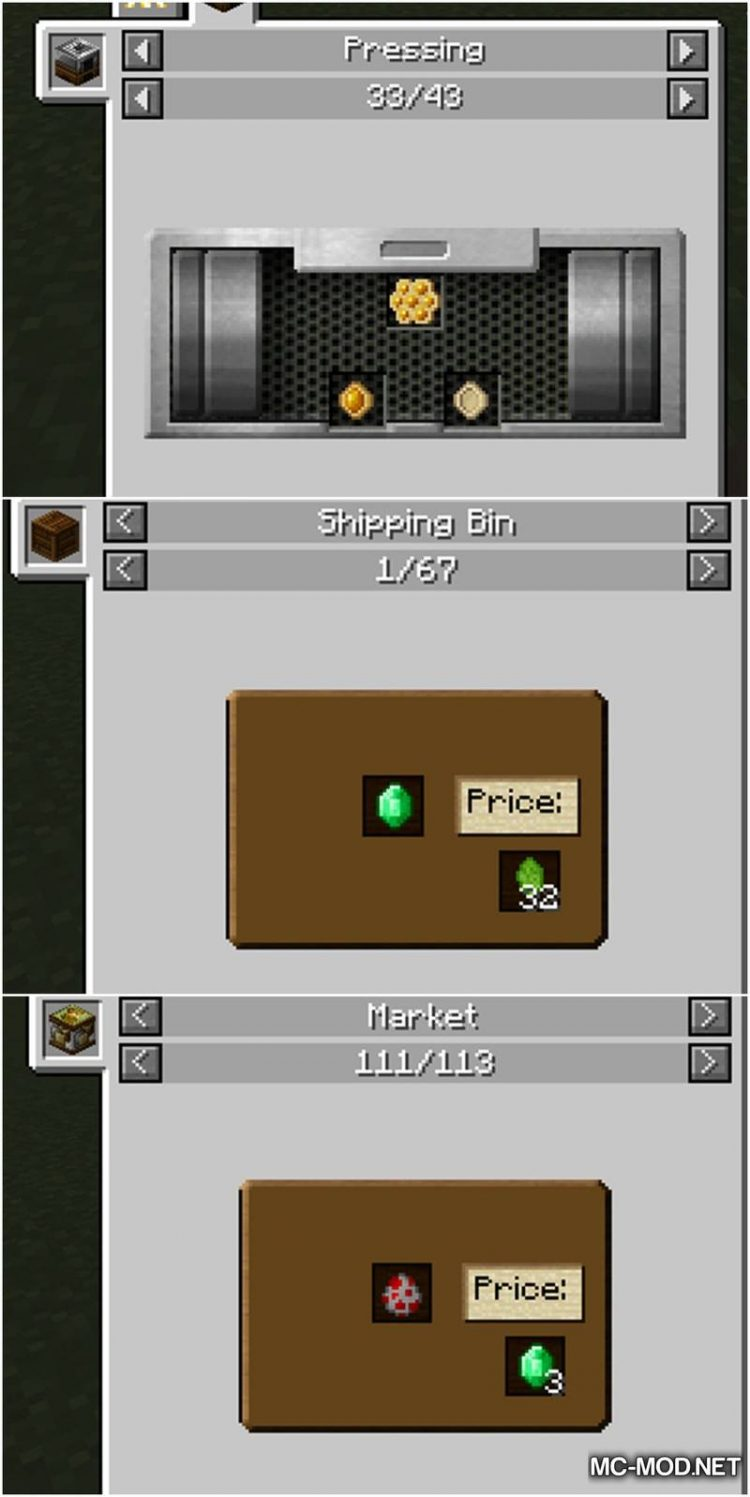 Just Enough HarvestCraft Mod for Minecraft 2